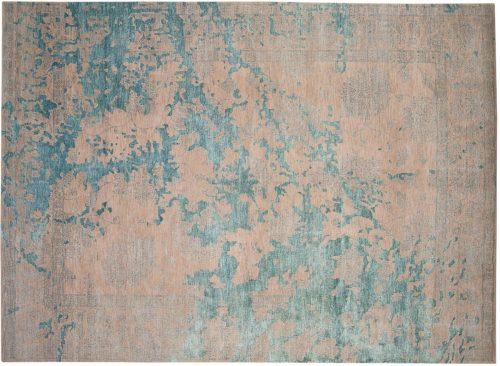9×12 Modern Teal Oriental Rug 048219