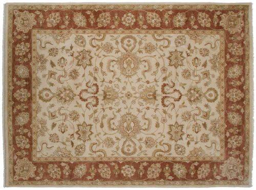 9×12 Oushak Ivory Oriental Rug 044992
