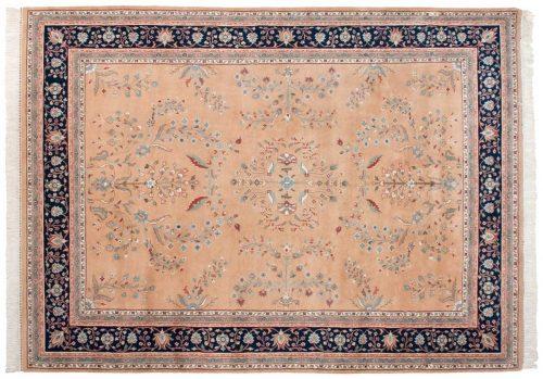 9×12 Sarouk Peach Oriental Rug 023852