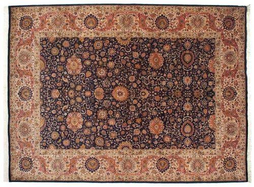 9×12 Persian Blue Oriental Rug 022050