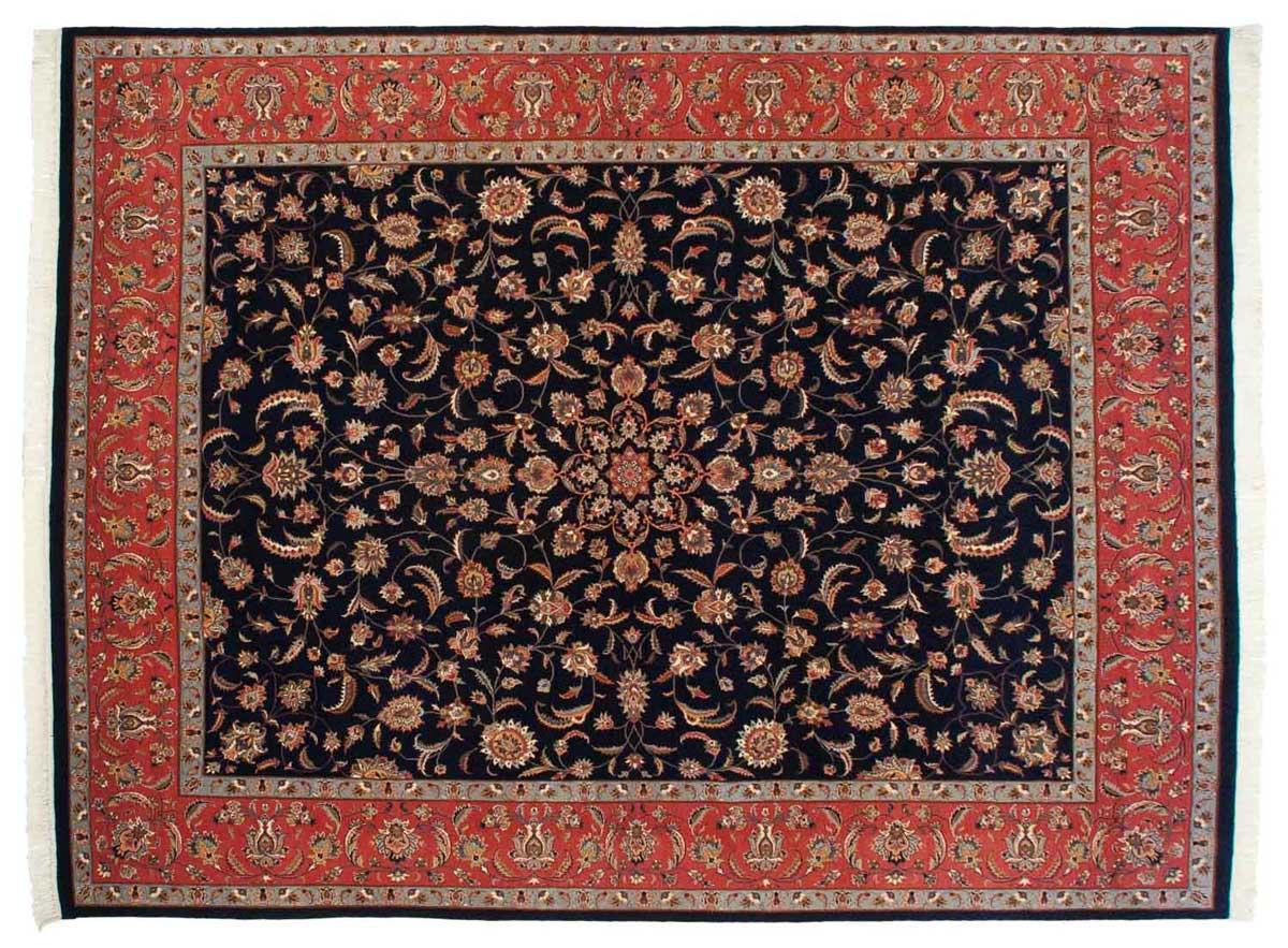 9x12 Persian Blue Oriental Rug 030299
