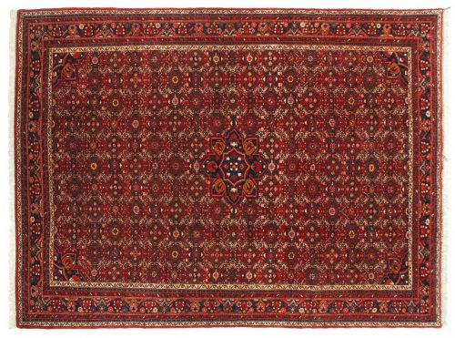9×12 Persian Ingilas Red Oriental Rug 022959