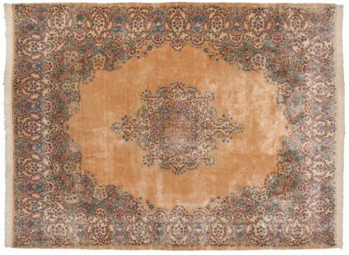 9×12 Persian Kerman Peach Oriental Rug 017333