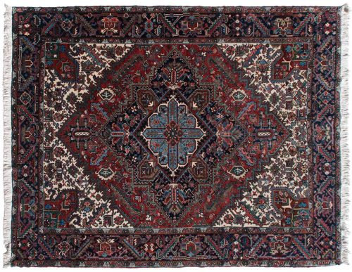 9×12 Persian Mehrivan Red Oriental Rug 034697