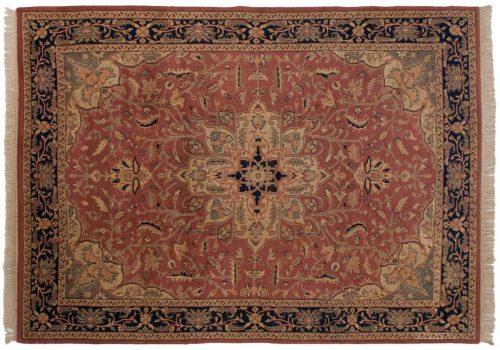 9×12 Heriz Rose Oriental Rug 024437