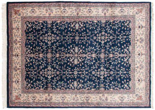 9×12 Sarouk Blue Oriental Rug 030548