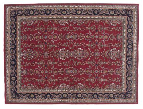 9×12 Sarouk Burgundy Oriental Rug 031594