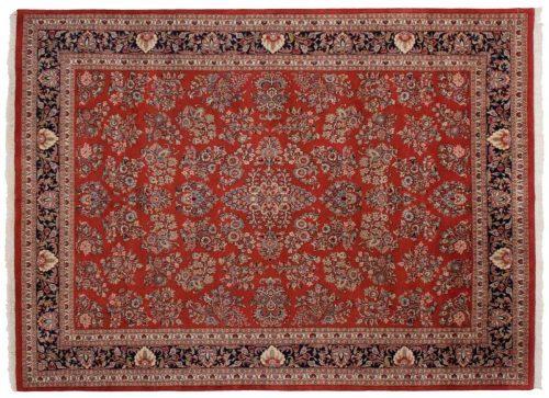 9×12 Sarouk Red Oriental Rug 024447