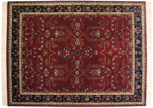 9×12 Sarouk Red Oriental Rug 032404