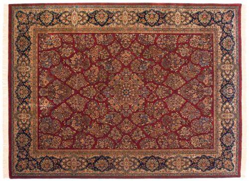 9×12 Sarouk Red Oriental Rug 038148