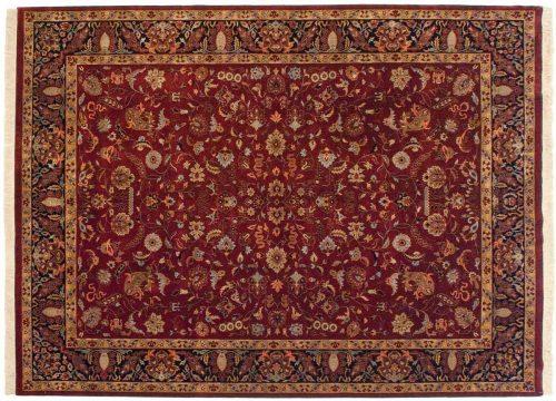 9×12 Sarouk Red Oriental Rug 038711