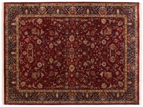 9×12 Sarouk Red Oriental Rug 038721