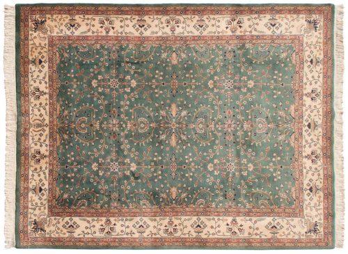 9×12 Sarouk Teal Oriental Rug 031113