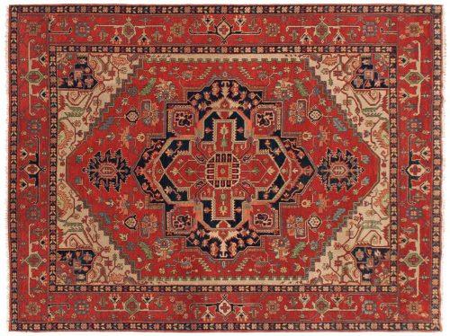 9×12 Serapi Rust Oriental Rug 043345