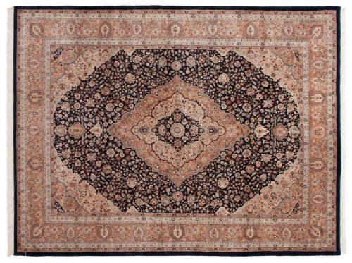 9×12 Kashan Blue Oriental Rug 016981