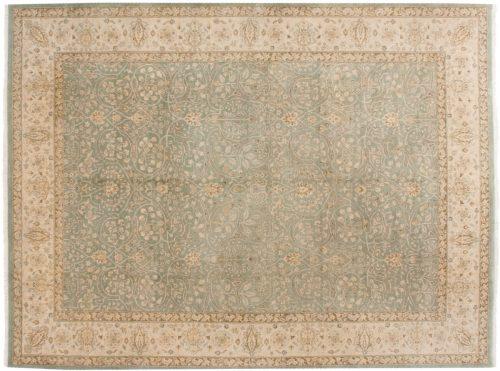 9×12 Tabriz Blue Oriental Rug 046046