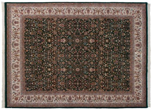 9×12 Tabriz Green Oriental Rug 036282