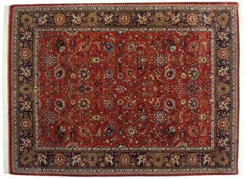9×12 Tabriz Red Oriental Rug 017042
