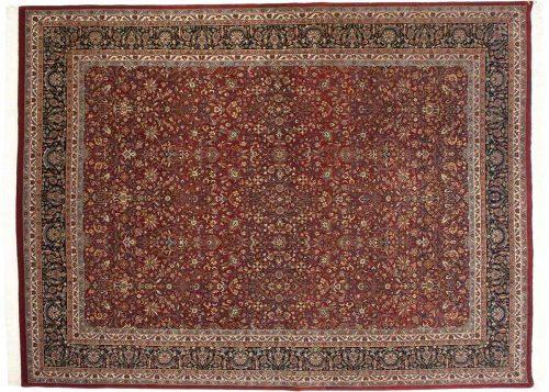 9×12 Tabriz Red Oriental Rug 037093