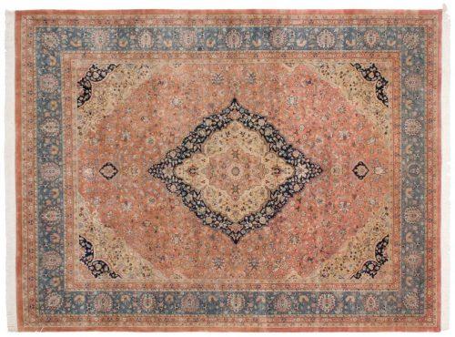 9×12 Kashan Rust Oriental Rug 016977