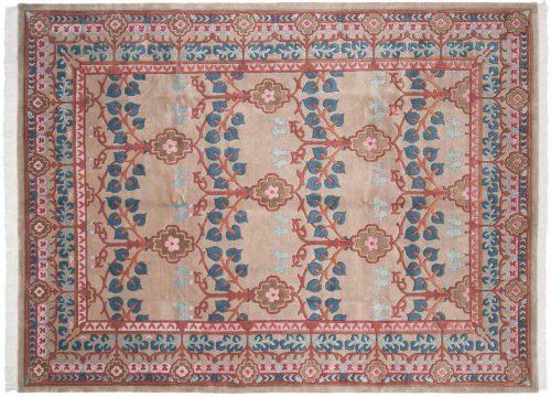 9×12 Tibetan Beige Oriental Rug 036150