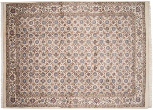 9×12 Veramin Ivory Oriental Rug 015578
