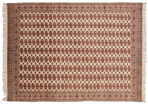 9×13 Bokhara Ivory Oriental Rug 027637