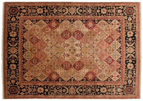 9×13 Kerman Multi Color Oriental Rug 014211