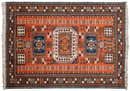 9×13 Persian Ardebil Rust Oriental Rug 035353