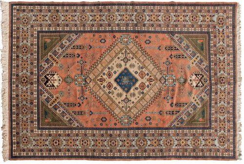 9×13 Persian Guba Rust Oriental Rug 035464