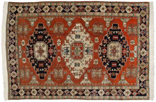 9×13 Persian Meshkin Rust Oriental Rug 035355
